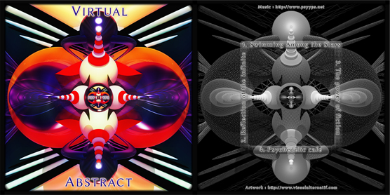Cover Virtual Abstact psytrance album