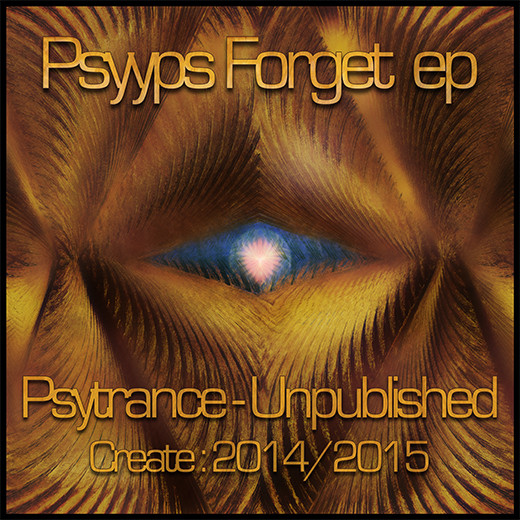 Cover Psyyps forget ep psytrance artwork